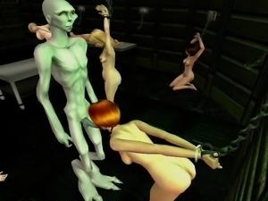 Sims2 porn Alien Sex Slave part3