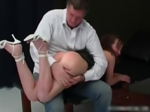 Hot busty MILF slut gets her big nice