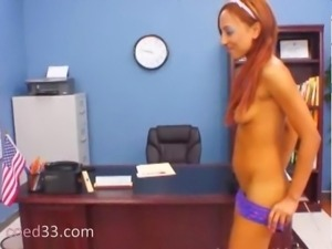 princess in nylons seduces Director
