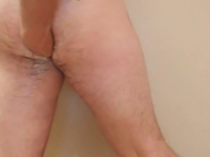 Bit of Amateur Anal Self Fisting Gay Gape Insertion