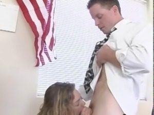 beautiful twenty student seduces teacher