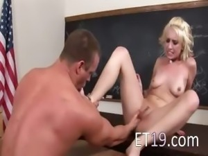 fisting with adorable young blonde