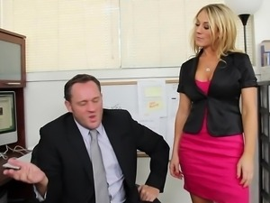 Amber Ashlee gets called into her boss's office