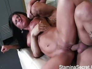 Chubby Chick Nailed By A Big Black Cock