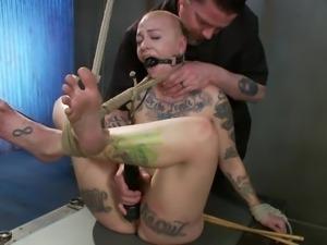 punk slut punished