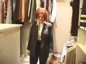 Danni Ashe-Area 69 Looking Like Scully From The X-Files