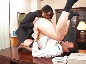 Japanese rimjob and blowjob