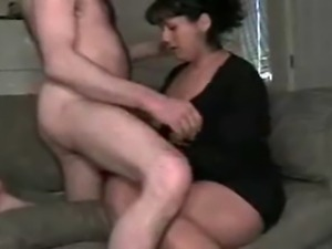 Wife gets dirty for husband