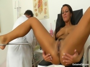 Ella (27 years girls gyno exam) free
