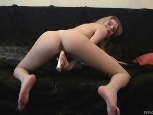 skinny ex girlfriend masturbating insanely