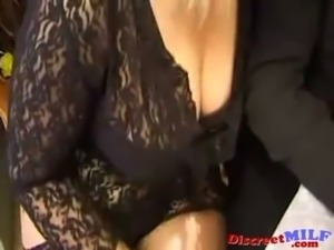 Mature French MILF Fucked Anal and Squirting Pussy Juice free