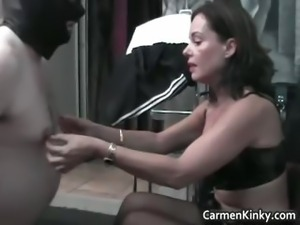 Hot sexy MILF brunette nasty chick part6