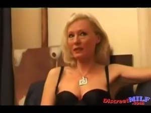 Elderly French Mother Fucked by Two Cocks free