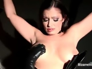 Awesome brunette honey Aria Giovanni