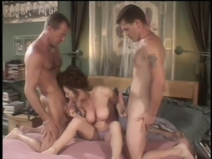 a classic threesome action