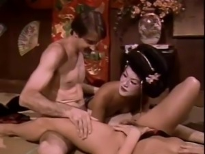 vintage Geisha Threesome