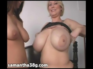 Samantha 38G and Lavender Rayne Have Fun in NJ Hotel Room