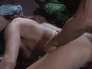 Kirsten price blind folded and rammed hard