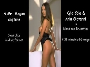 Kyla Cole and Aria Giovanni free