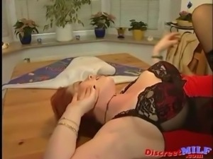 German Old MILF Gets Warm Facial Load free