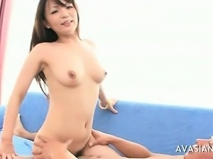 Japanese Babe Sucking Cock Like Candy