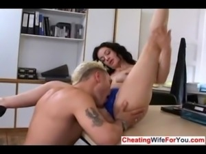Sexy MILF loves young cock free