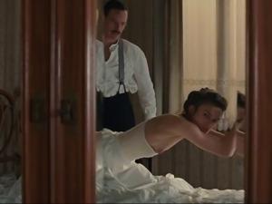 Keira Knightley spanked