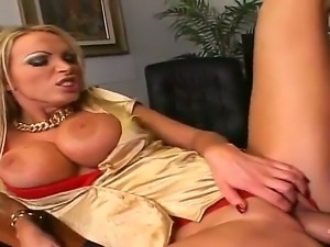 Maddening busty bombshell Nikki Benz needs really huge dick as Billy Glide has