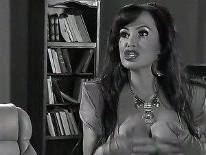 Milf Lisa Ann gets seriously pounded by horny male wich loves her mouth...