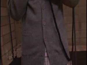 jsch Tsukushi Osawa - Semen-Drinking Petit School Girl - scene 3 free