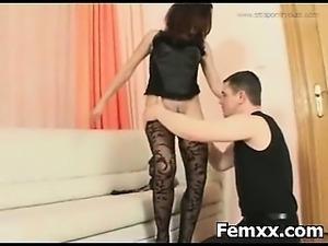 Rude Chick Bondage Femdom Sex