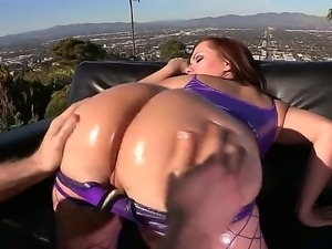 Jordan Ash gets a chance to enjoy playing with huge ass of Katja Kassin