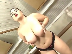 Filthy David Perry films big ass chubby whore Zita in pov while she teases...