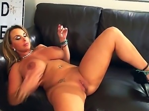 Arousing and impudent MILF Holly Halston is getting drilled by Keiran Lees...