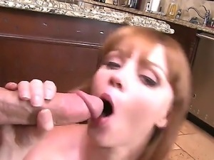 Lucky guy Jessy Jones gets an amazing blowjob from a sexy babe Marie McCray