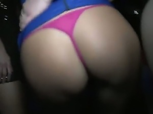 The hottest group orgy in a club with the Kortney Kane, Tiffany Brooks and...