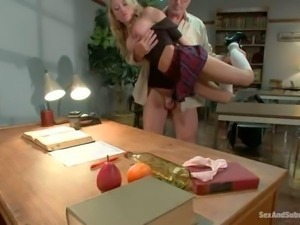 Madison Scott's a is s schoolgirl who is too sexy