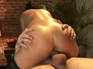 The hot and beautiful couple Mr. Pete and Asian babe Asa Akira fuck so hard...