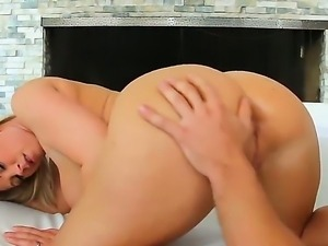 Milf with huge tits Devon Lee enjoys having younger stud Johnny Castle...