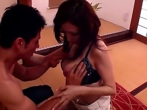 Adorable petite asian Julia with slim sexy body and gigantic juicy jaw...
