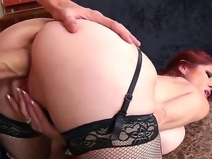 Danny D loves sticking his long dick into Tiffany Mynxs tight and wet pussy