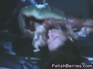 She Can't Escape to Tentacles!