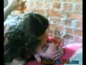 Arab outdoor  sex video free