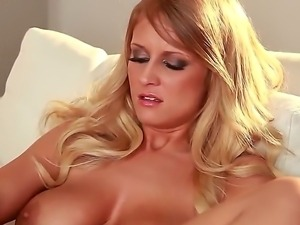 Alice Wonder is a hot blonde milf who loves to masturbate and this time she...
