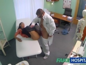 FakeHospital Married wife with fertility problem has vagina examined and...