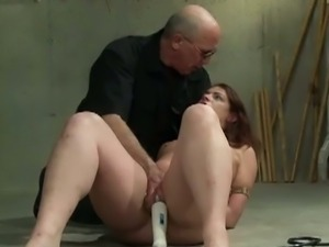 Pussy torments in a dungeon
