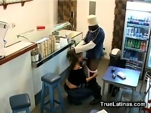 Black Dick in Fresh Latina Pussy