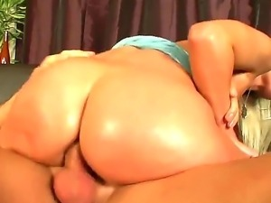 Watch the nice porn with J.J and Joyce Angel. Big ass blonde hottie is...