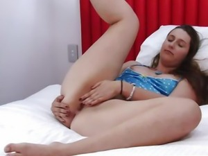 Girls Out West - Hotel room masturbation