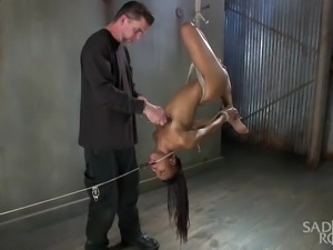a very flexible young lady